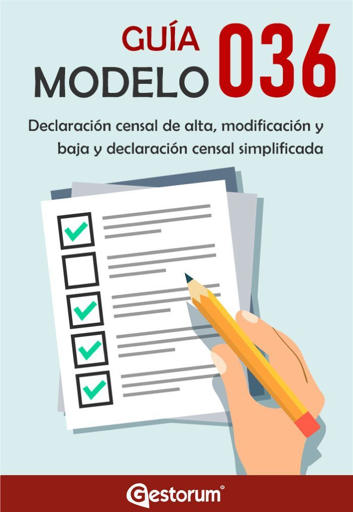 Guía modelo 036