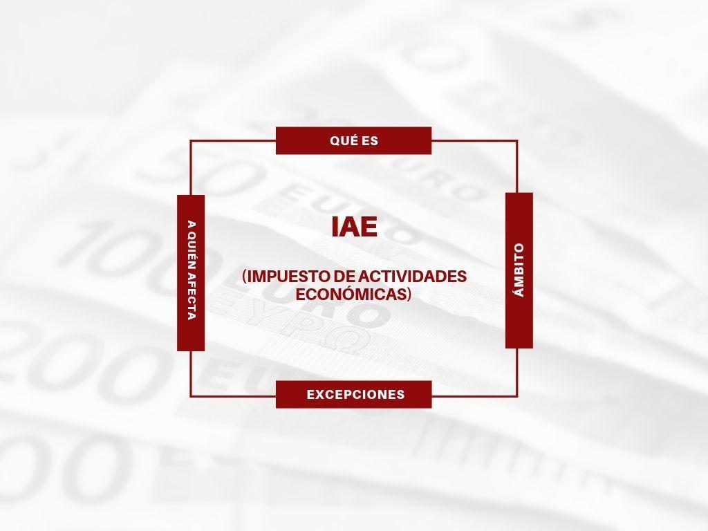 IAE Impuesto actividades económicas