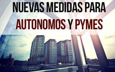 Nuevas medidas económicas del Gobierno para autónomos y pymes