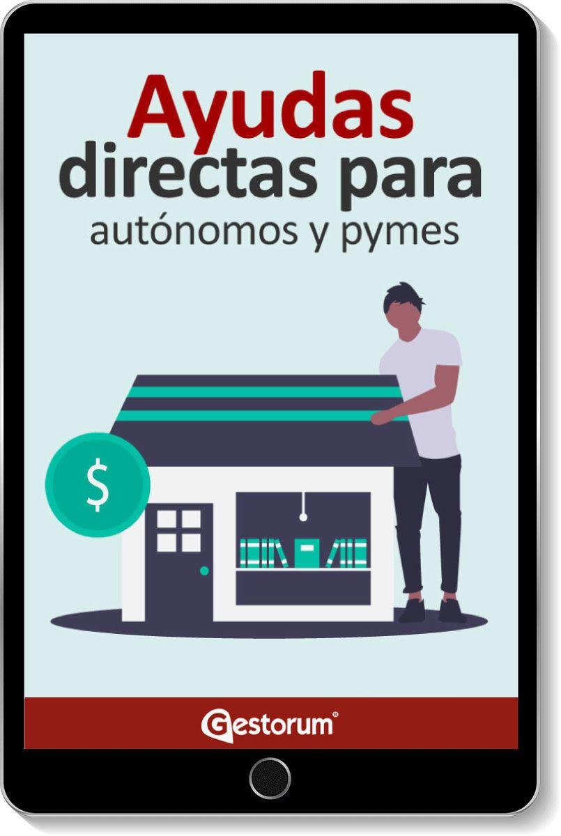 guía Ayudas directas para autónomos y pymes