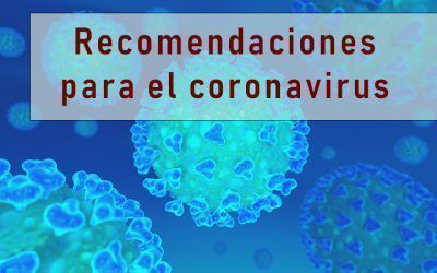 Recomendaciones para actuar frente al coronavirus