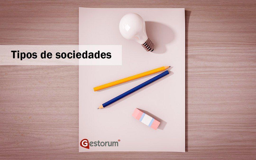 Los principales tipos de sociedades